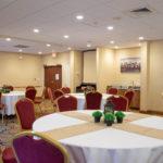 Meeting room set up Hampton Inn Christiansburg/Blacksburg