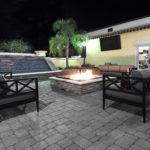 Hampton Inn & Suites Jacksonville Deerwood Park Firepit